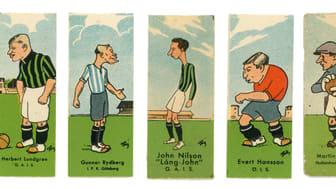 Fotbollsbilder 1930-tal