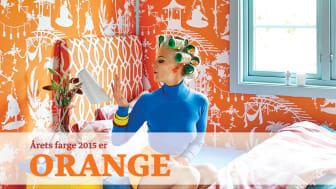 Årets Farge 2015 er Orange!