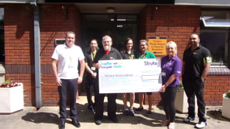 Farnell staff inspired to raise funds for Stroke Association in Yorkshire after employee's stroke