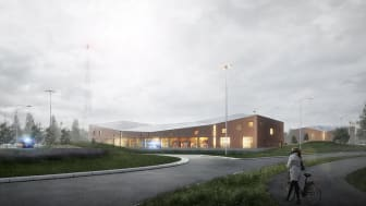 Trygghetens hus i Trelleborg - Ny brandstation och räddningscentral