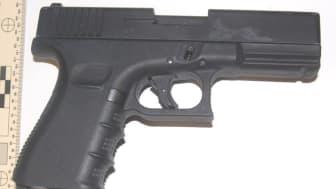 The firearm seized