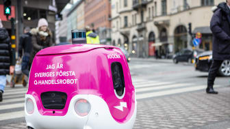 foodora and Tele2 accelerate testing of the 5G connected Q-commerce robot Doora