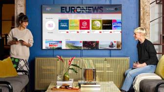 Samsung TV Plus lanceres nu i Norden