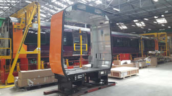 West Midlands Railway - Class 730 intermediate end - Bombardier production line