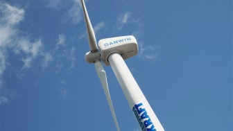 Svensk vindkraft upp 74 procent på ett år