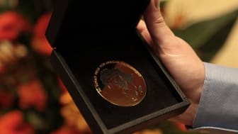 The Gold Medal Given along with One Million US Dollars to the Winner of the Al-Sumait Prize for African Development