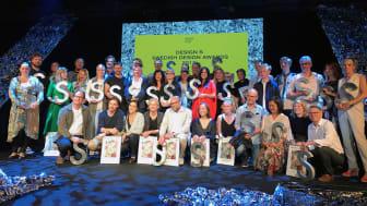 Design S – Swedish Design Awards 2018, årets alla vinnare