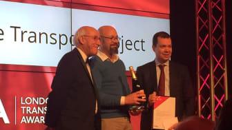 London Demonstrator wins Most Innovative Transport Project Award