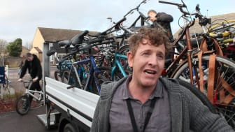 GTR's abandoned bikes delivered to TAG bikes
