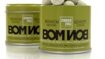 ChocoLate Organiko Bonbons White Chocolate Lemon & Cinnamon
