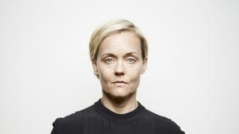 Mari Götesdotter spelar titelrollen i föreställningen Ortrud Mann. Urpremiär i Kuben på Malmö Live den 9 oktober. Foto Johan Sundell