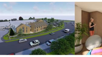 Wellbeing Centre architectural visualisation