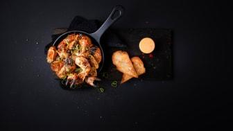 Krabbe er nå i sesong - har du smakt pepperkrabbe? Foto: Marius Fiskum
