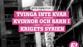 """Kampanjbild """"Rösta feministiskt"""""""