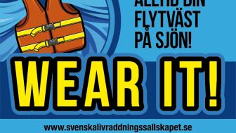 Internationella Flytvästdagen, lördagen den 21 maj 2016