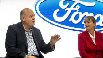 02 Ford Smart Mobility Office London - Jim Hackett & Sarah-Jane Williams