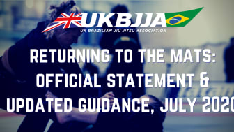 Returning to the mats - official UKBJJA statement and guidance, July 2020