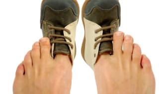 Falsche Schuhe schaden dem Fuß. Bild: Lars K. Christensen | fotolia