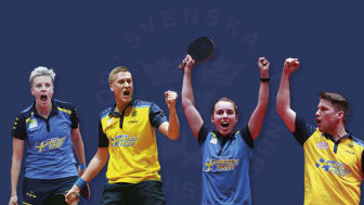 Svenska landslagen med medaljer från de fyra senaste mästerskapen redo för nya utmaningar i Nantes