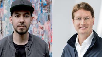 Mike Shinoda från Linkin Park och Ola Källenius från Daimler kommer till me Convention i Stockholm