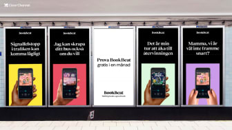 """BookBeat tar nästa steg i utvecklingen av varumärket - lanserar konceptet """"Nothing beats a good book"""""""