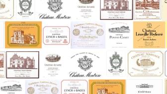 Clinet, Haut-Bailly, Cos d'Estournel och Smith-Haut Lafitte är bara några av deltagarna på Årets Stora Bordeauxprovning.