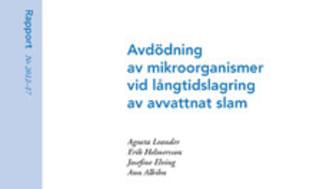 VA SYD aktiva i framtagningen av rapport om slamhantering