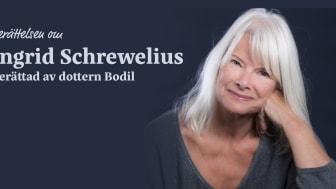Bodil Schrewelius på Nöjesteatern - Berättarkväll Tisdag 27 oktober kl 19.00