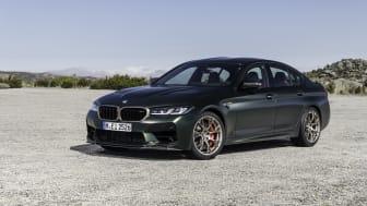 BMW M5 CS: Den mest kraftfulde model i BMW M's historie