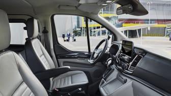 Ny Tourneo Custom - kabine