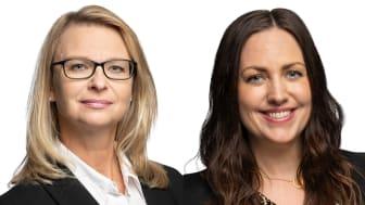 Occupier Services utökar teamet med Jeanette Henningsson (till vänster) och Susanne Brile (till höger).