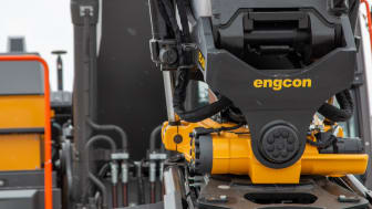 Engcon og Volvo i globalt samarbeid