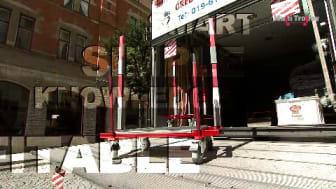 Multi Trolley-arbetsmetod för hantering av dörrar och fönster