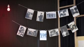 Bilder på tork i framkallningsstation
