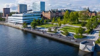 Logianläggningarna i Umeå kommun drabbades hårt av coronapandemin och stängda gränser under juli, visar preliminära siffror från Tillväxtverket/SCB. Foto: Fredrik Larsson