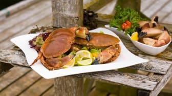 Krabbe naturell