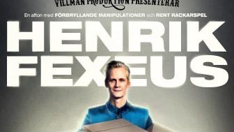 Mentala illusionisten, tankedomptören och internationellt prisbelönte underhållaren Henrik Fexeus är äntligen tillbaka på scen!
