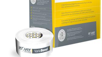 Lufttät, vindtät och vattenavvisande- ISOVER lanserar Vario Bond