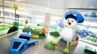 Flajt flyttar in på Malmö Airport. Fotograf: Jens Christian