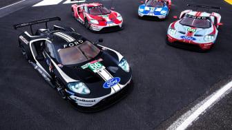 Årets upplaga av Le Mans 24 timmar blir den sista för det nuvarande Ford GT-programmet. Teamets fyra Ford GT-bilar har specialdesignats för racet.