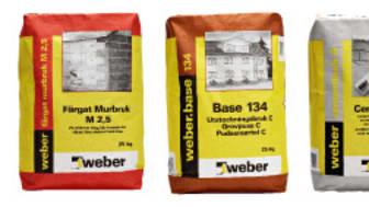 Nya Weberförpackningar
