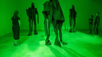Sandra Mujinga på Göteborgs konstmuseum, 2021