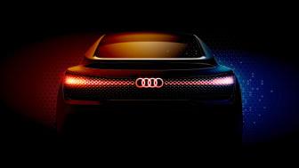 Audi præsenterer bil med OLED-lys på LA Auto Show