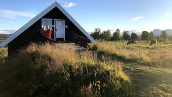 Enten du er historieinteressert eller ikke, åpner «Historiske vandreruter» opp for spennende oppdagelser for turgåere. Prosjektet får støtte til aktiviteter og formidling spesielt for barn og unge. (Foto: Foto Louise Brunborg-Næss)