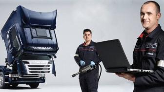 Stor succes med Scania Oversigtsrapport