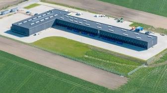 GLS' nye depot nord for Horsens, tæt på motorvej E45