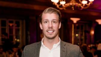Årets Unga Entreprenör Norr  Mattias Matsson, grundare av Professionals Nord Rekrytering,