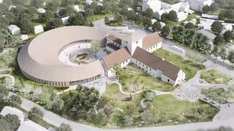 Det nye Vikingtidsmuseet på Bygdøy i Oslo | Illustrasjon: AART architects.