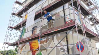 Trafostation des Bayernwerks wird künstlerisch umgestaltet