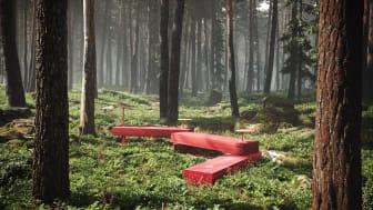 Sittmöbler, formgivna av Liljewall genom arkitekt Jonas Hermansson, för Nola.